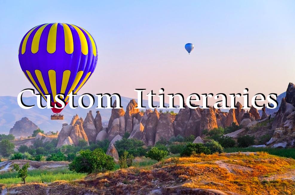 Custom Itineraries