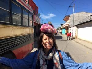 Guatemala SF w eggs on head